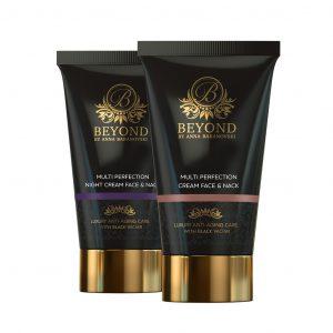 Beyond Cosmetic Products - Day and Night Cream Face & Neck מוצרי הקוסמטיקה של ביונד- שפורפרות קרם יום וקרם לילה